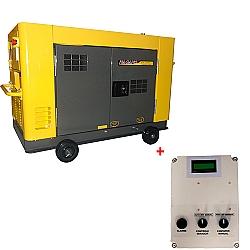 Comprar Gerador de Energia a Diesel 11.5 kVA Monofásico Silenciado refrigerado a água 110v/220v com Qta até 12 Kva - NDE12STA-Nagano