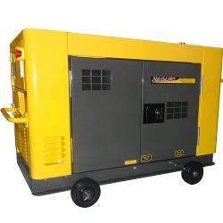 Comprar Gerador de Energia a Diesel 12.65 kVA 220 V mono / 380 V tri refrigerado a água Silenciado - NDE12STA3D-Nagano