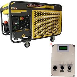 Comprar Gerador de Energia a Diesel, Trifásico 220v/380v, 12,65 KvA, Refrigerado a Água com QTA 12 KvA - NDE12EA3D-Nagano