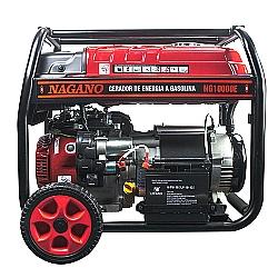 Comprar Gerador a Gasolina Monofásico 9 KVA 4t 60hz Partida Elétrica 110/220 v Motor 16hp 192fb - NG10000E-Nagano
