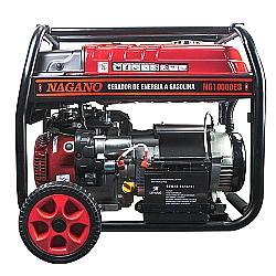 Comprar Gerador a Gasolina Trifásico 9 KVA 4T 60HZ Partida Elétrica 110/220 V Motor 16HP - NG10000E3-Nagano