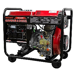 Comprar Gerador de Energia a Diesel 3,75 KVA Monof�sico Partida El�trica � ND3200E-Nagano