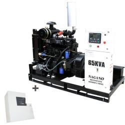 Comprar Gerador de Energia a Diesel 65 kVA Trifásico - partida elétrica Aberto c/ QTA Nagano - ND65000E3QTA-Nagano
