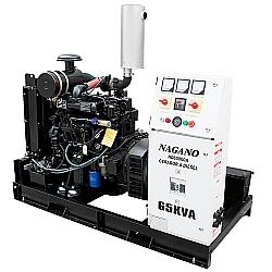 Comprar Gerador de Energia a Diesel, 65 kVA, Trifásico, Motor de 4 Cilindros - Partida Elétrica Aberto - ND65000EA3-Nagano