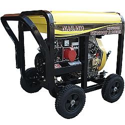 Comprar Gerador de Energia a Diesel 6 kVA Monofásico 110/220 V partida elétrica - ND7000E-Nagano