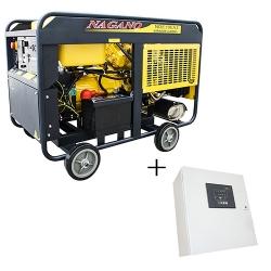 Comprar Gerador de Energia a Diesel Monofásico 19 kva partida elétrica com QTA 110/220v - ND19EA-Nagano