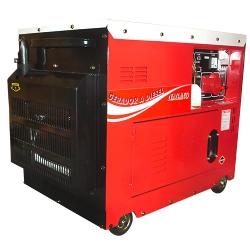 Comprar Gerador de Energia a Diesel Monof�sico Silenciado cabinado 6.0 kva partida el�trica 110/220v - ND7000ES-Nagano
