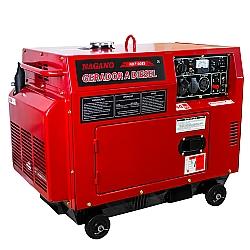 Comprar Gerador de Energia a Diesel Silenciado 6 KVA Monofásico Partida Elétrica - ND7100ES-Nagano