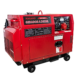 Comprar Gerador de Energia a Diesel Silenciado 6.8 KVA Partida Elétrica - ND7100ES3-Nagano