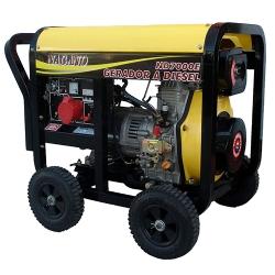 Comprar Gerador de Energia a Diesel, Trifásico 220/380v, 6 kva, Partida elétrica - ND7000E3D-Nagano