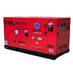 Comprar Gerador de Energia a diesel trifásico 33 KVA Partida Elétrica Silenciado Cabinado Motor Nagano - ND33000ES3-Nagano