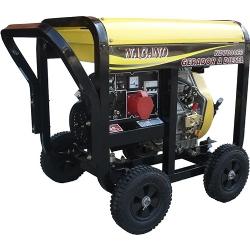 Comprar Gerador de Energia a Diesel Trif�sico 6 kva partida el�trica 110/220v - ND7000E3-Nagano