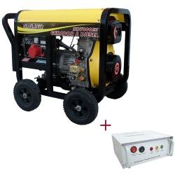 Comprar Gerador de Energia a Diesel, 110/220v, 6 kva, Partida elétrica - QTA incluso - ND7000E3QTA-Nagano