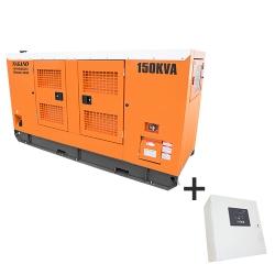 Comprar Gerador de Energia a Diesel Trifásico partida elétrica cabinado Silenciado 150 kva c/ QTA Nagano - ND150000ES3QTA-Nagano