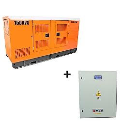 Comprar Gerador de Energia a Diesel, trifásico, partida elétrica silenciado, 150 kva, motor nagano 60hz, 110/220 V e QTA 150 kVA, Trifásico (Strazmaq)-Nagano