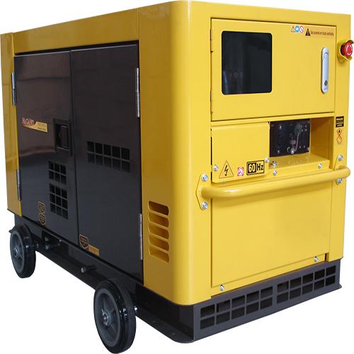 Gerador de Energia a Diesel Silenciado 21 kva 110 / 220v partida eletrica - NDE19STA3 - Nagano