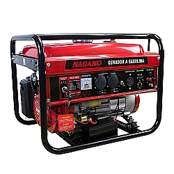 Comprar Gerador de Energia a Gasolina, 3 KVA, Monofásico Partida Elétrica - NG3100E-Nagano