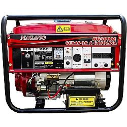 Comprar Gerador de Energia a Gasolina 3 kva Monofásico partida elétrica 110/220v - NG3000E-Nagano