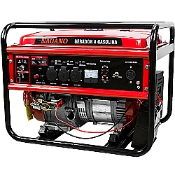 Comprar Gerador de Energia a Gasolina 4,4 KVA Monofásico Partida Elétrica – NG4100E-Nagano