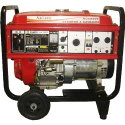 Comprar Gerador de Energia a Gasolina 4 tempos Monofásico 6 kva partida elétrica 110/220v - NG6000E-Nagano