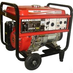 Comprar Gerador de Energia a Gasolina, 4 tempos, Trifásico 110/220v, 6 kva, Partida elétrica - NG6000E3-Nagano