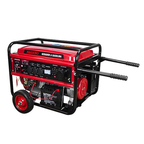 01479cd808f AgrotamA -Gerador de Energia a Gasolina 8 KVA trifásico 110 220v Partida  Elétrica NG8100E3