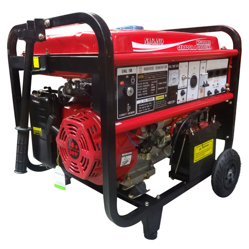 9d2cf6877a1 AgrotamA -Gerador de Energia a Gasolina 8 kva partida elétrica Monofásico  110 220v - NG8000E