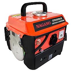 Comprar Gerador de Energia a Gasolina Monofásico 2 Tempos Partida Manual 60 HZ NG96-Nagano