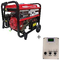 Comprar Gerador de Energia a Gasolina, Trifásico 110/220v, 8 KvA, Partida Elétrica + Qta de até 12 Kva - NG8000E3EQTA-Nagano