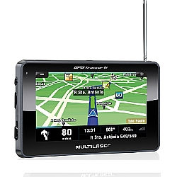 Comprar GPS Automotivo Câmera ré 4.3 Tracker  TV Digital-Multilaser