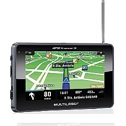 Comprar GPS Automotivo C�mera r� 4.3 Tracker  TV Digital-Multilaser