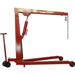 Comprar Guincho hidráulico capacidade de 1.000 kg com roda em pu e prolongador-Skay