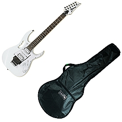Comprar Guitarra 2 Humbuckers 1 Single Double Locking - JEM-JR + Capa para Guitarra Simples Corino-Ibanez