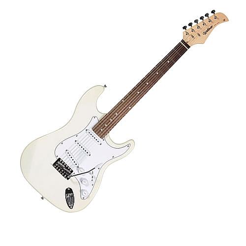 Comprar Guitarra Canhota com Alavanca 3 Single-Coils Hi-Gain Bra�o em Maple STREET-Waldman