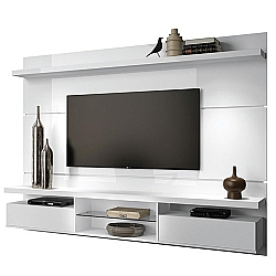Comprar Painel Home Suspenso Livin 2.2 para TVs de até 60 Pol 2 Portas basculantes Branco - 6252-HB Móveis