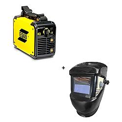 Comprar Inversora de Solda, 145 Ampères, Bivolt - Bantam 1450I + Máscara de solda com escurecimento automático-Esab