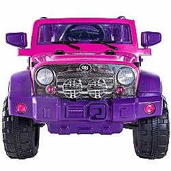 Comprar Jipe El�trico Rali Pink com Controle Remoto 12v-Bel Fix