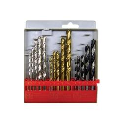 Comprar Jogo de brocas para concreto/madeira/a�o r�pido de 4 a 10 mm com 15 pe�as - C1502-Br Tools