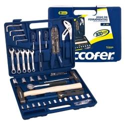 Comprar Jogo de ferramentas 100 pe�as com maleta - KF100-Eccofer