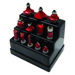 Comprar Jogo de fresas haste 6 mm com 12 pe�as - MC1201-Br Tools