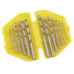 Comprar Jogo de brocas de aço rápido 13 peças 1,5 a 6,5 mm-Vonder