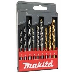 Comprar Jogo de Brocas Metal/Madeira/Concreto com 9 peças - D-08660-Makita