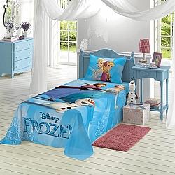 Comprar Jogo de Cama Estampado Frozen Com 2 peças 1 Sobrelençol 1,50 m x 2,10 m e 1 Fronha 50 cm x 70 cm-Lepper