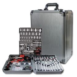 Comprar Jogo de ferramentas com maleta 186 pe�as-Lee Tools