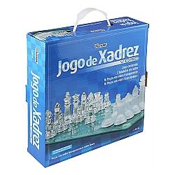 Comprar Jogo de Xadrez, Vidro 24cm, 32 Peças - XA-10-Western