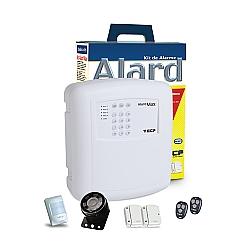 Comprar Kit Alarme Residencial Comercial com Controle - Alard Max 4 Fit-ECP