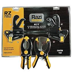 Comprar Kit de 2 Grampos Speed 2 Grampos Mult - KG8019-Razi