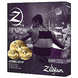 Comprar Kit De Pratos Zildjian Planet Z - Plz4pk - 14hh+16crash+20ride-Zildjian