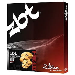 Comprar Kit De Pratos Zildjian Zbt Five - Zbtp390-A - 14hh 16crash 18crash 20ride-Zildjian
