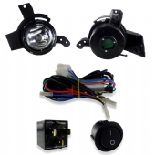 KIT FAROL DE MILHA AUXILIAR, FIESTA HATCH/SEDAN - 2007 A 2009, KA - 2008 A 2011 (KIT03C)